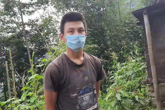 Naren Tamang (32), arrested for brutally killing a dog in Sikkim