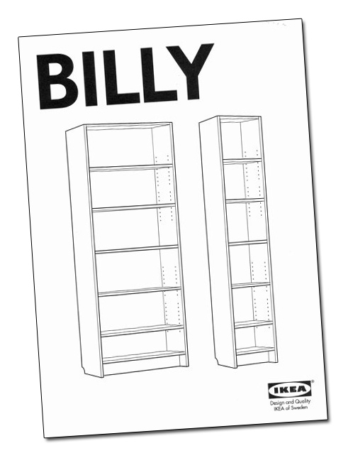 billy bookcase gillis lundgren the designer who. Black Bedroom Furniture Sets. Home Design Ideas