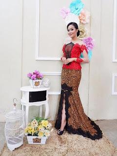 model rok batik panjang untuk pesta