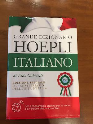 Grande Dizionario Hoepli di Aldo Gabrielli, edizione speciale 150th anniversario