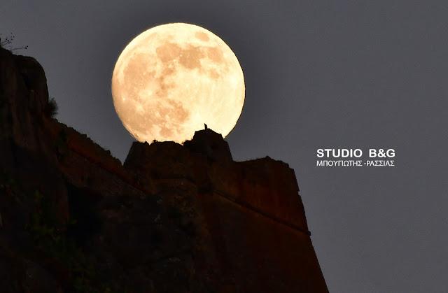 Πανσέληνος και μερική έκλειψη Σελήνης θα συμπέσουν στις 7 Αυγούστου