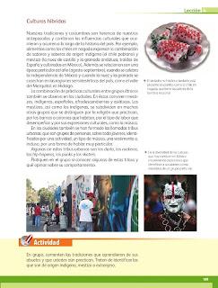 Apoyo Primaria Geografía 4to. Grado Bloque III Lección 4 La cultura en México