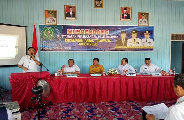 Musrembang Kecamatan Pasak Talawang Tampung 149 Usulan