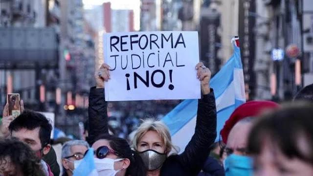 Ingresa el dictamen del proyecto sobre Reforma Judicial