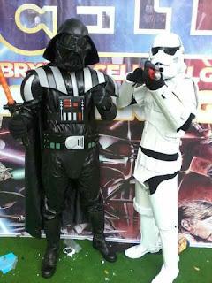 Badut Star Wars