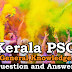 Kerala PSC General Knowledge Question and Answers - 108