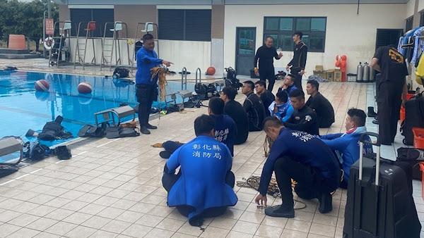 彰化縣消防局因應水域遊憩旺季及汛期 強化各項防溺作為
