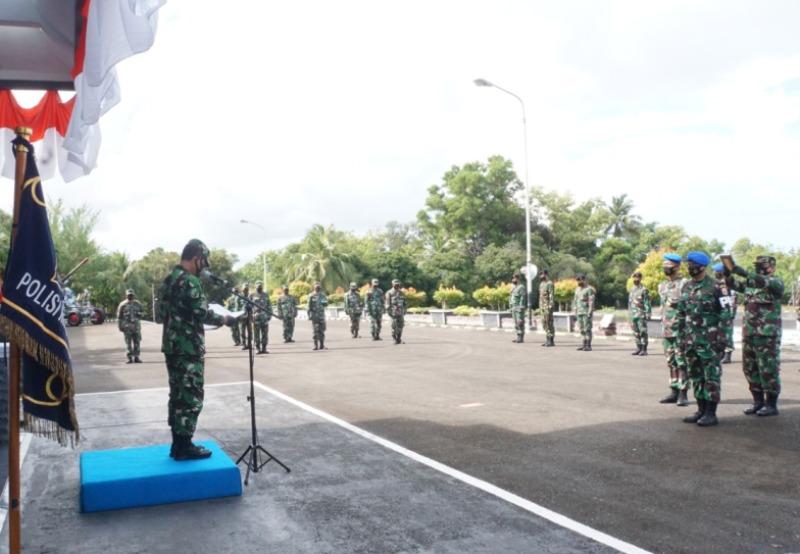Mayor Laut Dedy Ary Yuanto Resmi Jabat Danpom Lantamal IV