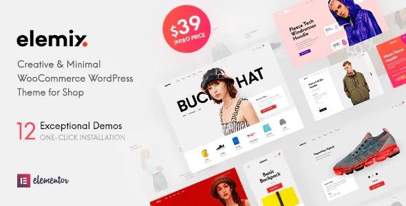 Best Modern & Creative Elementor WooCommerce Theme