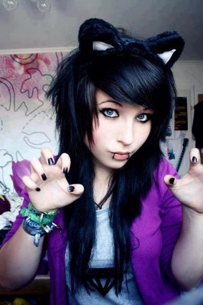 Cute Emo Girls 48 Pics: Cute Emo Girls High School
