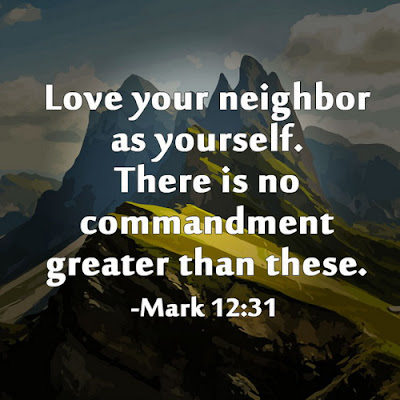 inspirational quotes love your neighbor as yourself.