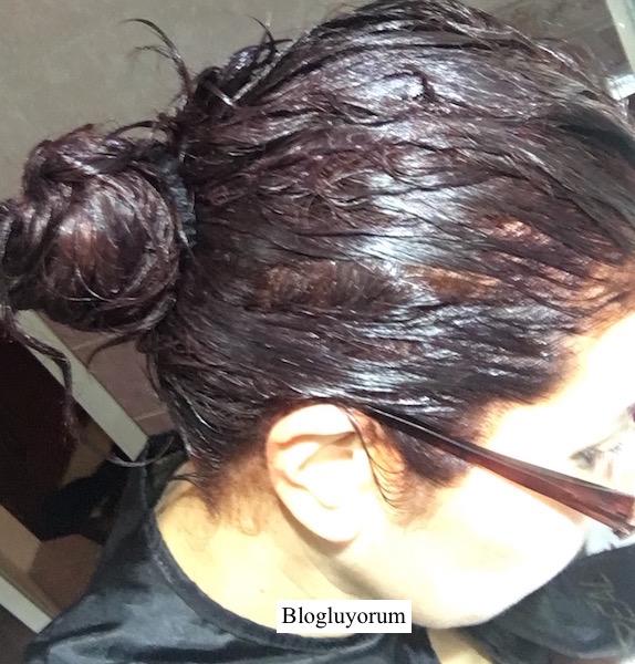 garnier 6.46 yoğun bakır kahve saç boyası ile saç boyama son