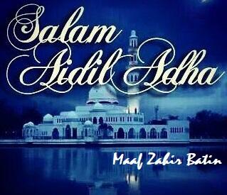 Salam Aidil Adha, Maaf Zahir & Batin