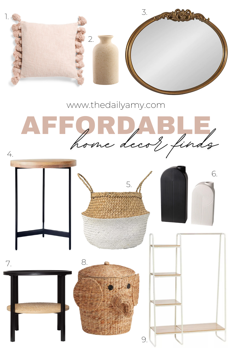 Affordable home decor finds - neutral home decor finds