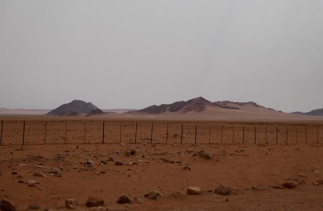 panorama sulle montagne lungo la D707