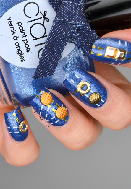 The Ciate Denim Manicure