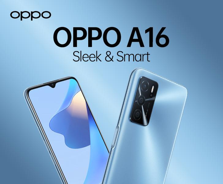 Oppo A16 : Kelebihan, Kekurangan dan Spesifikasi Lengkapnya