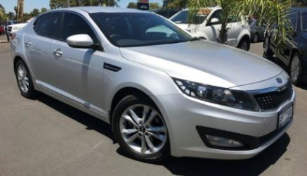 Our new-ish Kia Optima