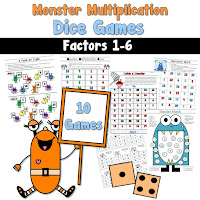 Monster Multiplication Games