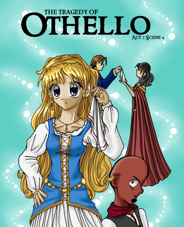 MISS DERMARKS LITERARY RAMBLES OTHELLO FANART  1