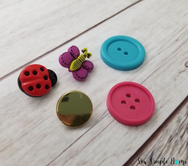 how to sew a button step by step