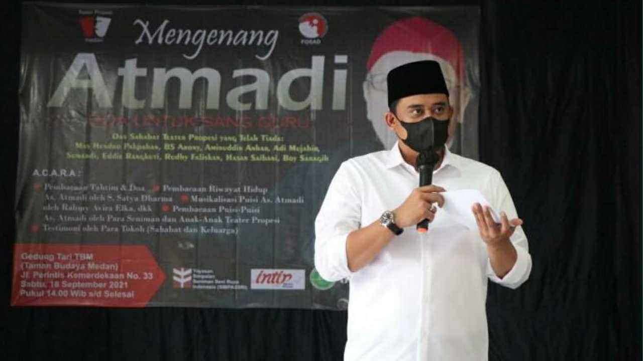Bobby Nasution Apresiasi Karya As Atmadi Dalam Dunia Seni dan Kewartawanan Medan