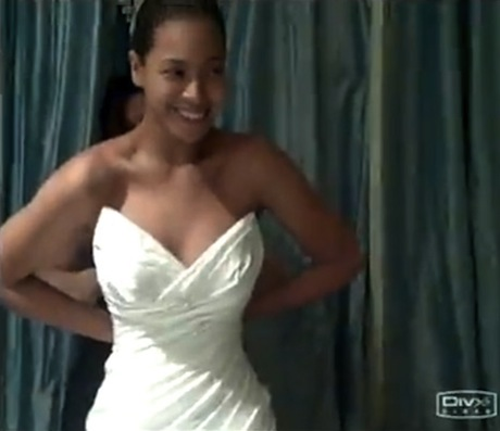 Beyonce Wedding Video Dress