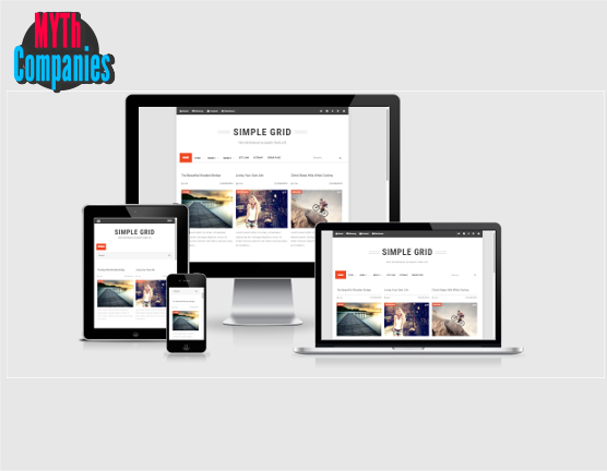 Simple Grid Responsive Blogger Template | SPADE
