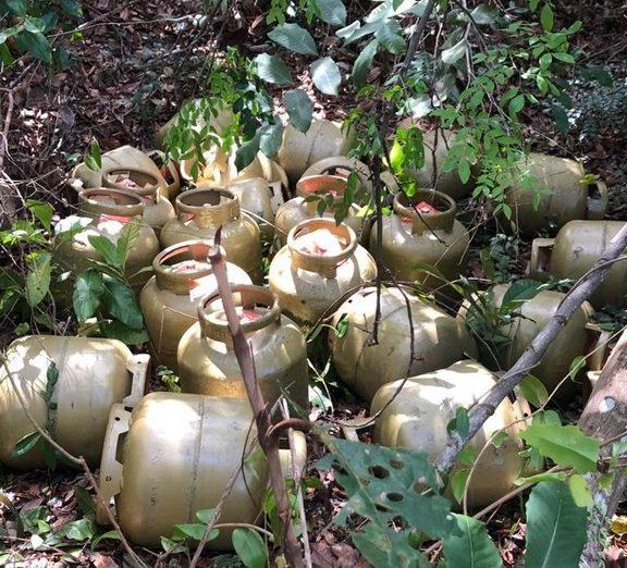 PC prende três suspeitos e localiza carga de botijões de gás furtados em Guarabira