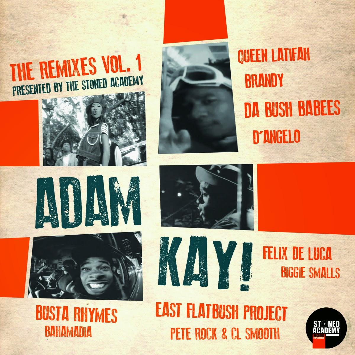 """Adam Kay - """"The Remixes Vol. 1"""" (2015) (Dinamarca)"""