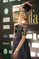 Sanjjanaa Galrani aka Archana Galrani in Maroon Gown beautiful Pics at IIFA Utsavam Awards 2017 36.JPG