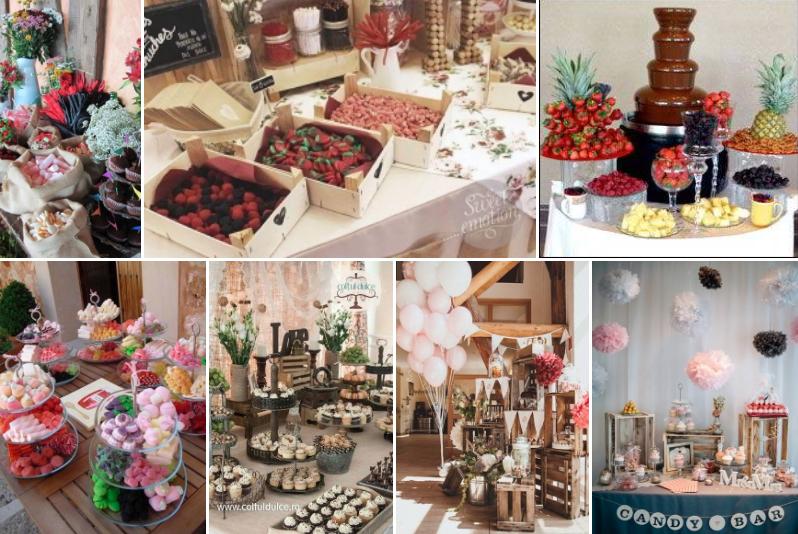 Candy Bar for Weddings
