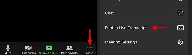 Cara Mengaktifkan Live Captions dan Live Transcript di Zoom-4