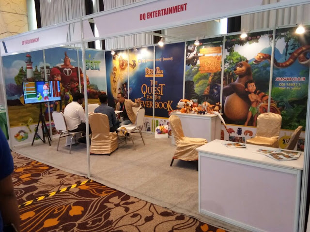 Exhibition Stall Makers In Hyderabad : Dq entertainment india licensing expo at sahara star mumbai