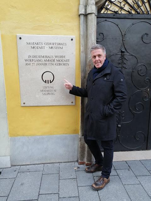 Salzburg Mozart Haus Getreidegasse