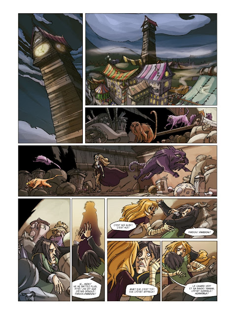 """Lock Tome 5 """"Langorytes"""" éditions Paquet page 6"""