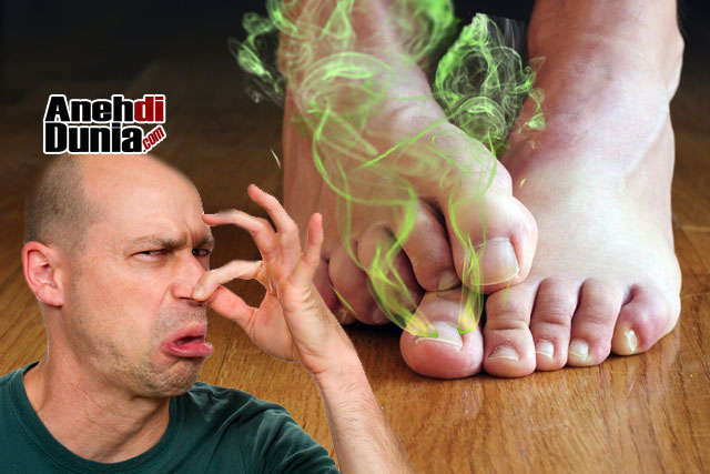 Menuntut karena Bau kaki