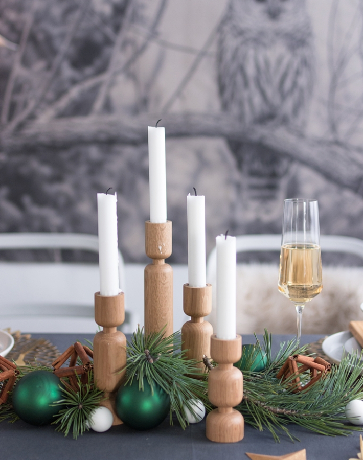 La mesa más bonita para Navidad + 3 Diy