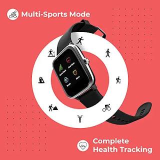 Best Deal Noise Colorfit Pro 2 Full Touch Control Smart Watch Jet Black.