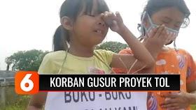Korban Gusuran Proyek Tol Jokowi Minta-minta di Jalan, Butuh Makan dan Duit