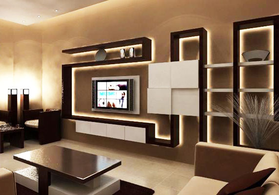 . Top 40 modern TV cabinets designs   Living room TV wall units 2019