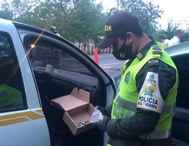 En El Cesar:  Se incautaron municiones y contrabando de cigarrillos