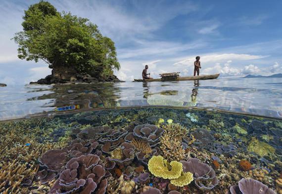 Penduduk pulau pasifik selatan