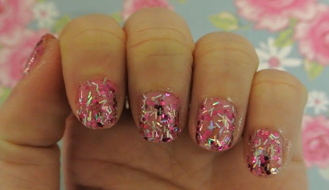barry m nail paint glitter