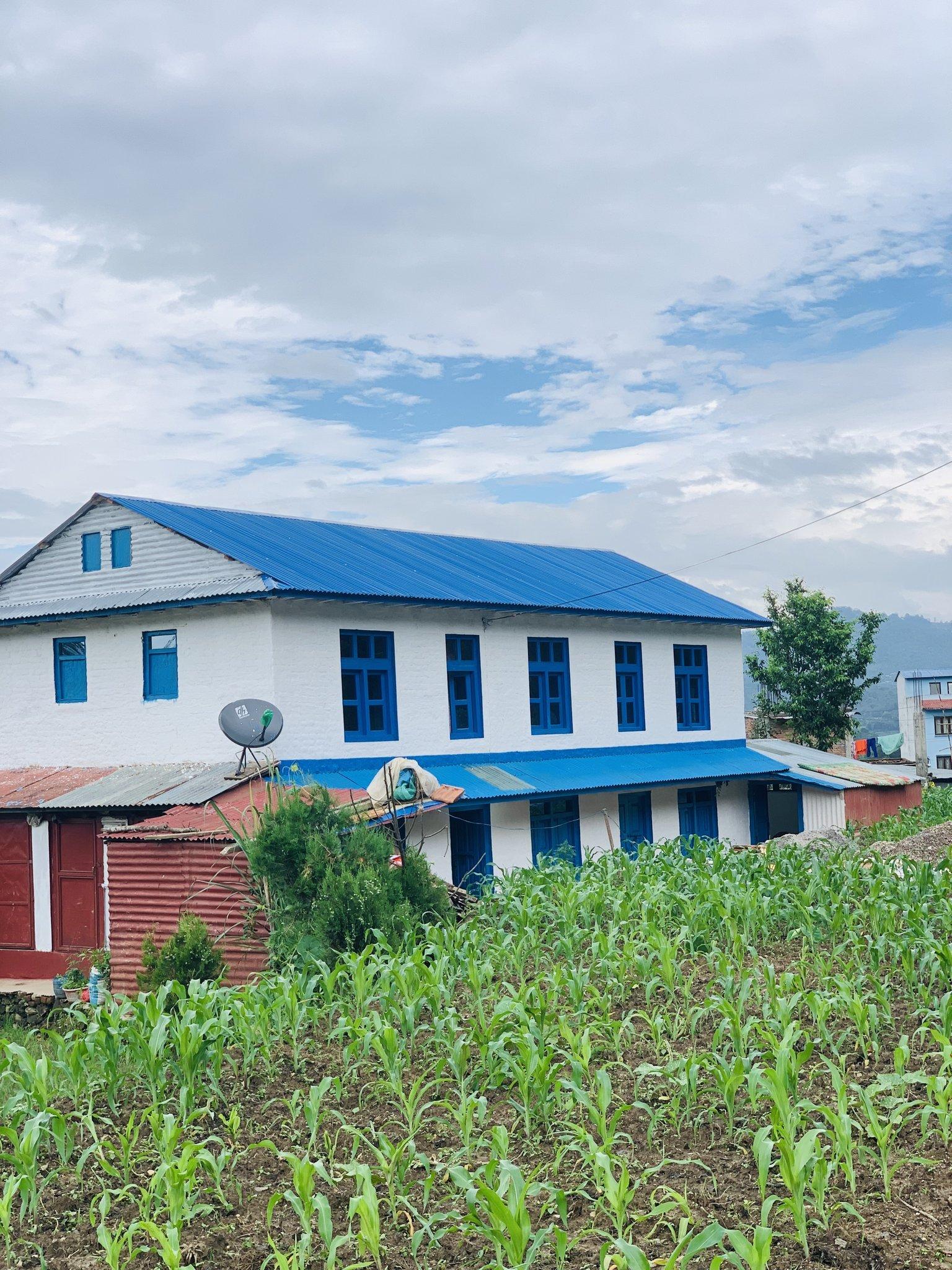 Traditional Nepali House