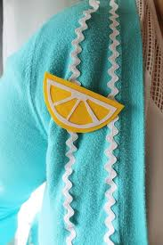 how to make an easy lemon brooch
