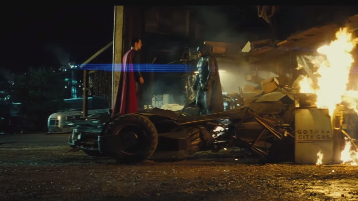 """BATMAN vs SUPERMAN"", Trailer"