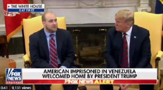 Freed American 'overwhelmed with gratitude' after being released from Venezuela