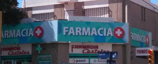CARTEL FRONTLIGHT FARMACIA CASTELAR