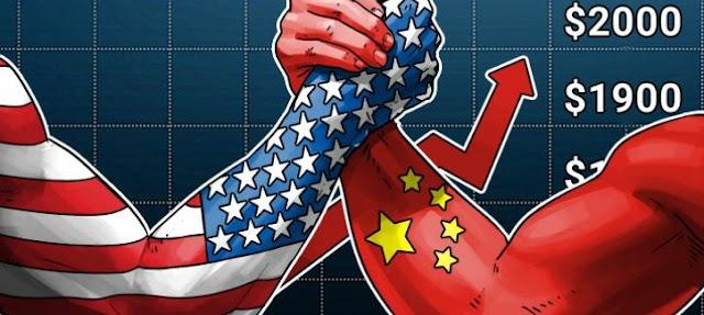 Bitcoin sẽ đạt mức 2000 USD hay Mỹ và Trung Quốc sẽ có một thỏa hiệp?